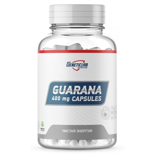 GeneticLab Guarana capsules 60 caps