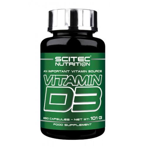Scitec Vitamin D3 250 caps