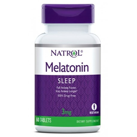Natrol Melatonin 3mg 60 tabs