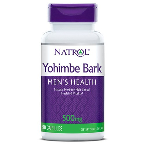 Natrol Yohimbe Bark 500mg 90 caps