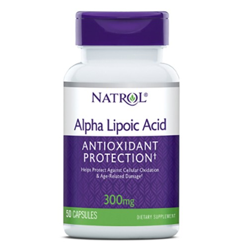 Natrol Alpha Lipoic Acid 300mg 50 caps