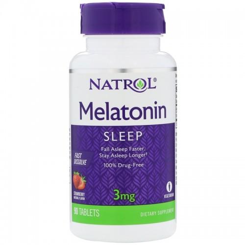 Natrol Melatonin FD 3 мг 90 таб