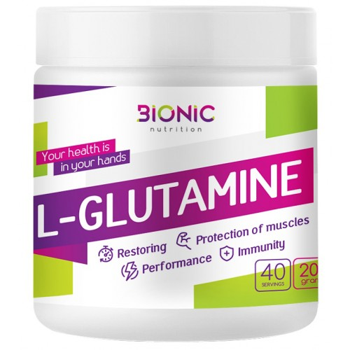 Bionic L-Glutamine 200 гр.