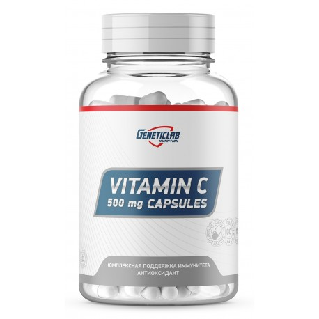 GeneticLab Vitamin C Аскорбидол 60 капс
