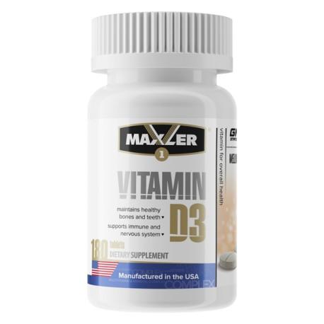 Maxler Vitamin D3 180 tabs
