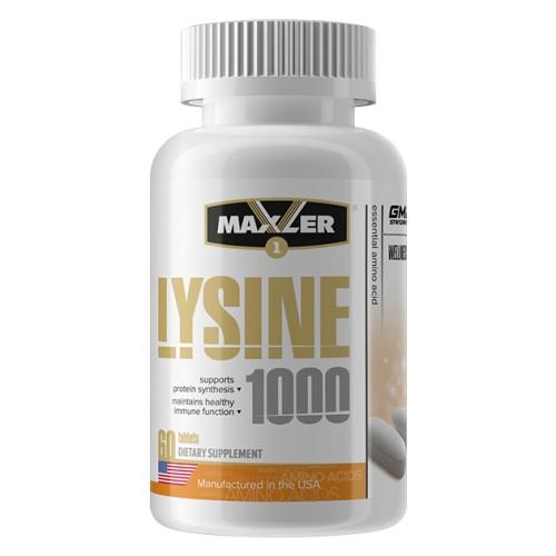 Maxler Lysine 1000 60 табл.