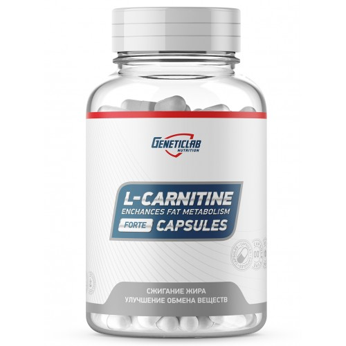 GeneticLab L-Carnitine 60 капс.