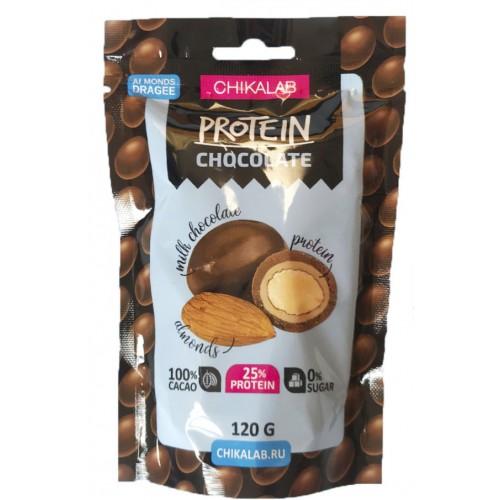 CHIKALAB Миндаль в шоколаде 120 гр.